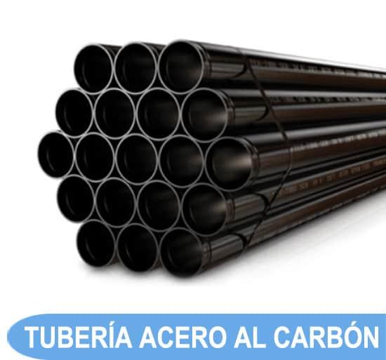 tuberia ranurada contra incendio al carbon
