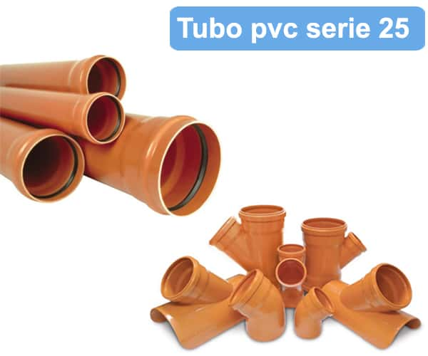 venta de tubo pvc s-25