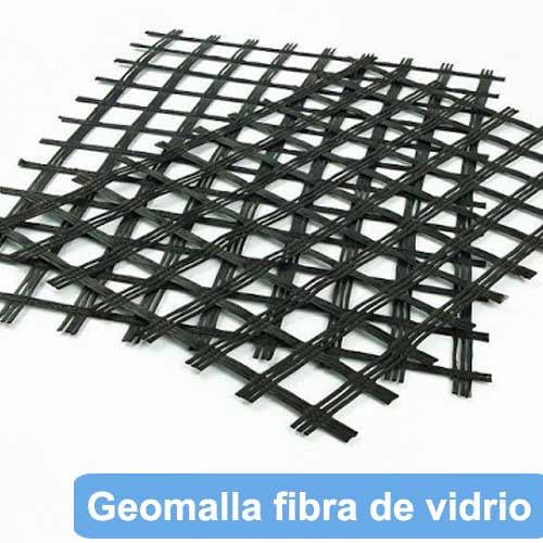 venta geomalla biaxial de fibra de vidrio