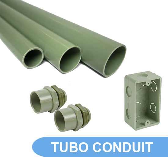 venta tubo conduit pvc electrico
