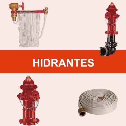 hidrantes y magueras contra incendio